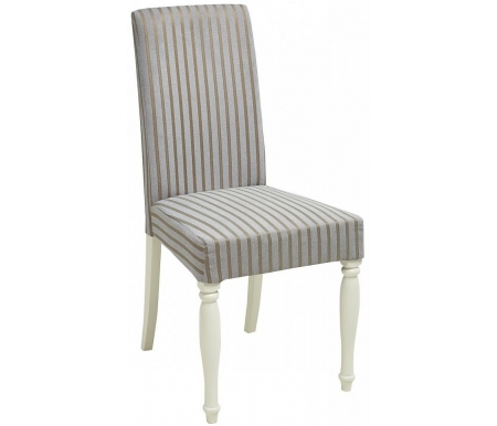 Стул Мебель Малайзии деревянный TS Ella 3 ivory white / fabric TX-5B EL-SC3