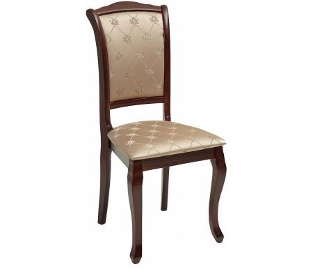Стул Мебель Малайзии деревянный TS Geneva dark walnut / fabric SK-GF GN-SC