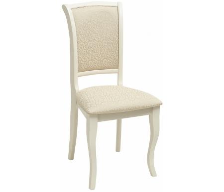 Стул Мебель Малайзии деревянный TS Milano ivory white / fabric A04 MN-SC