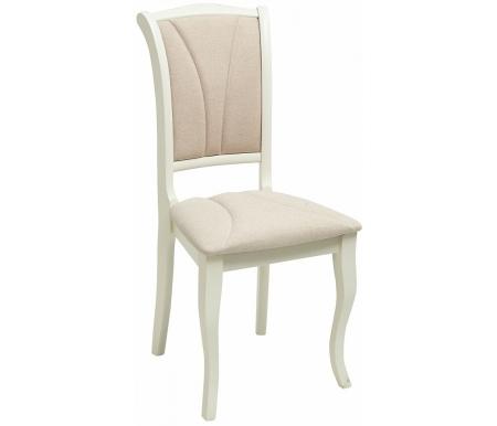 Стул Мебель Малайзии деревянный TS Opera ivory white / fabric YF988-8 OP-SC