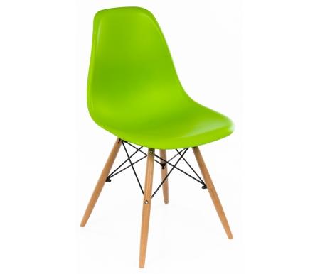 Купить Стул Woodville, Eames PC-015 зеленый
