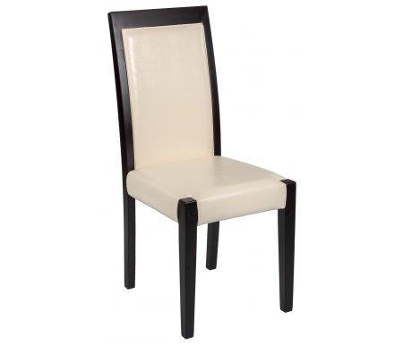Стул ElzaДеревянные стулья<br><br><br>Ширина: 41 см<br>Глубина: 42 см<br>Высота: 96 см<br>Материал каркаса: массив бука<br>Цвет каркаса: венге<br>Материал обивки: кожзам<br>Цвет обивки: кожзам 955