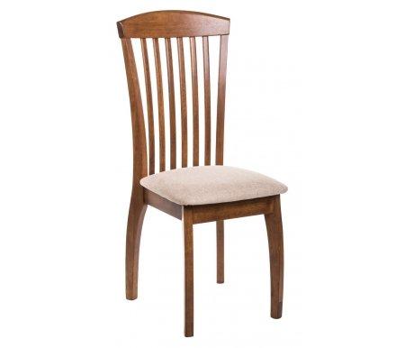 Стул JIN D-838 дуб / светлая рогожкаДеревянные стулья<br><br>