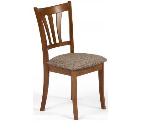 Стул JIN D-84Деревянные стулья<br>Стул с мягким сиденьем прекрасно впишется в интерьер кухни, дачи, гостиной или кафе.<br>