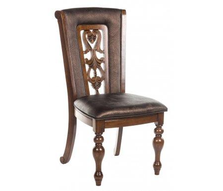Стул MK-4510-LW LUSA  с мягким сиденьем и спинкойДеревянные стулья<br><br>