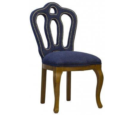 Стул PJC397 велюровый каштан / темно-синийДеревянные стулья<br><br>