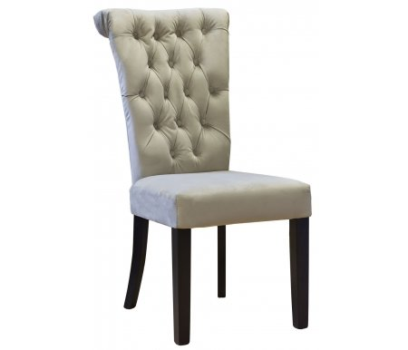 Стул PJC597-J631 велюровый бежевыйДеревянные стулья<br><br>