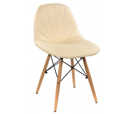 Стул Eames PP-626 бежевыйДеревянные стулья<br><br>