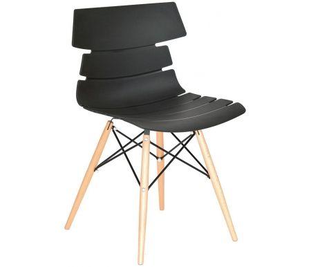 Стул PW-030 черныйДеревянные стулья<br>Удобный и современный стул подходит для использования в гостиных и кухнях, на дачах и в кафе. Обратите внимание на его необычный и привлекательный дизайн.<br>