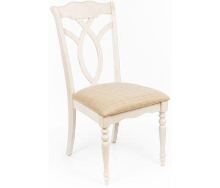 Стул LT C14357Деревянные стулья<br><br><br>Ширина: 49 см<br>Глубина: 63 см<br>Высота: 98 см<br>Материал каркаса: массив гевеи<br>Цвет каркаса: состаренный молочный<br>Материал обивки: ткань<br>Цвет обивки: бежевый