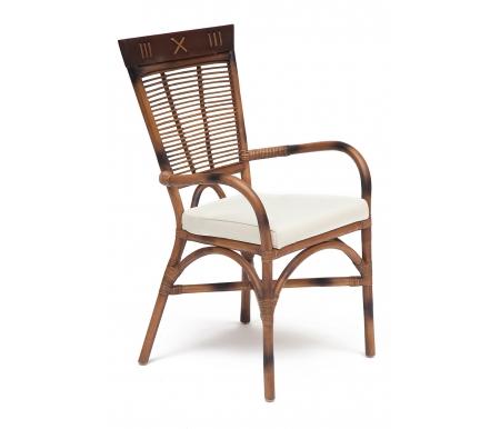 Здесь можно купить Secret De Maison Kavanto с подлокотникам коричневый античный  Стул Тетчер Деревянные стулья