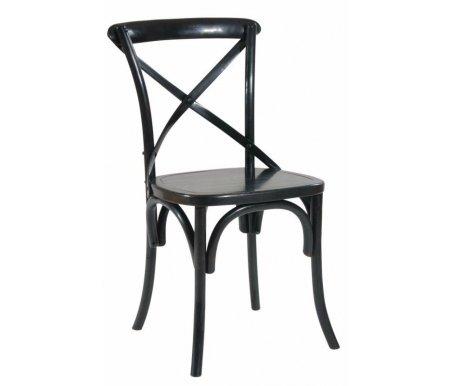 Стул СН-614Деревянные стулья<br><br><br>Ширина: 50,5 см<br>Глубина: 54 см<br>Высота: 88,5 см<br>Материал: массив дуба<br>Цвет: черный<br>Вес: нет данных