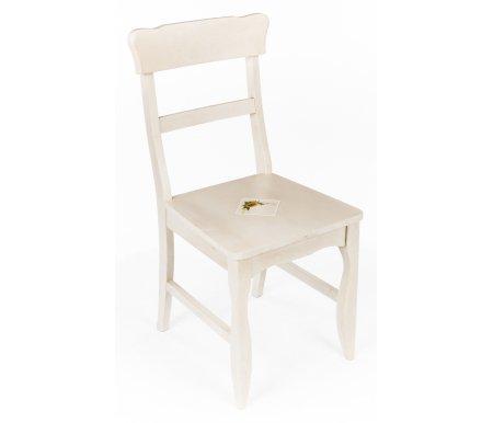 Стул Civic Sunny ChairДеревянные стулья<br>Сиденье украшено вставкой-плиткой с цветочным рисунком.<br>