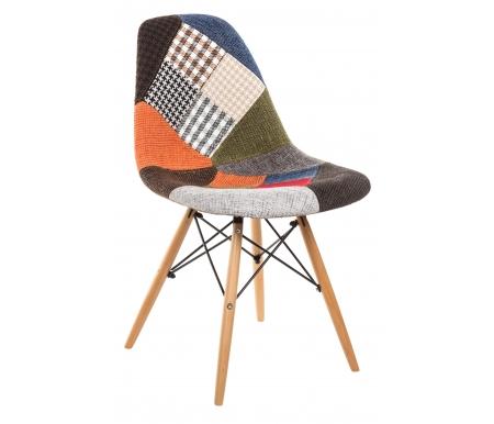Стул Y970Деревянные стулья<br>Ножки выполнены из массива гевеи.<br><br>Ширина сиденья: 54 см<br>Глубина сиденья: 47,5 см<br>Высота спинки: 83,5 см<br>Материал каркаса: дерево, металл<br>Материал обивки: ткань (рогожка)