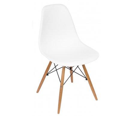 Стул Y971 белыйДеревянные стулья<br>Ножки выполнены из массива гевеи.<br>
