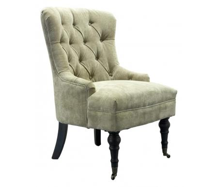 Кресло для гостиной PJC098-PJ842 бежевоеКресла<br>Максимально допустимая нагрузка для кресла - 130 кг. На передних ножках расположены поворотные колеса.<br>