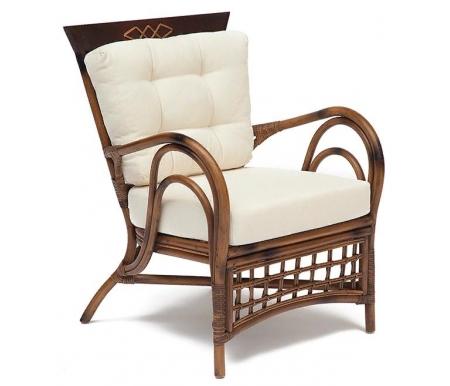 Купить Кресло Тетчер, из ротанга Secret De Maison Kavanto коричневый античный, коричневый антик