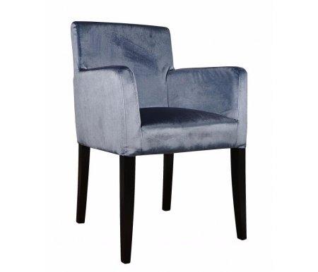 Кресло KY-3059Кресла<br><br><br>Ширина: 59 см<br>Глубина: 55 см<br>Высота: 88 см<br>Материал каркаса: массив дуба<br>Цвет каркаса: ткань<br>Цвет обивки: серо-синий<br>Вес: 10 кг