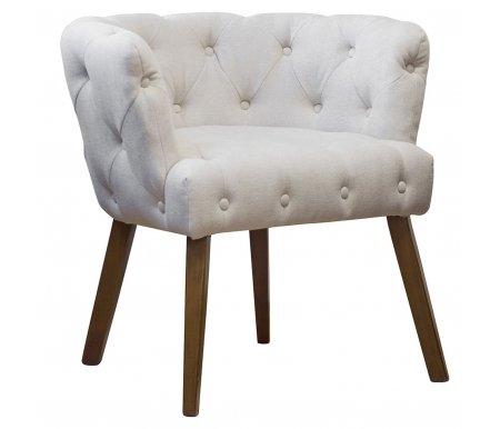 Кресло PJC388-PJ613 велюровое светло-бежевоеКресла<br>Максимальная нагрузка для кресла - 130 кг.<br>
