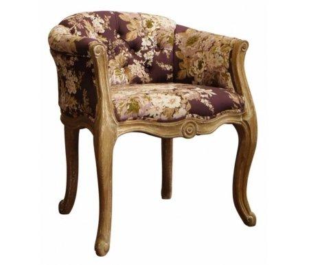 Кресло СН-939-1-ОАК-FLКресла<br><br><br>Ширина: 64 см<br>Глубина: 56 см<br>Высота: 78 см<br>Материал каркаса: массив дуба<br>Цвет каркаса: ткань<br>Цвет обивки: цветочный принт<br>Вес: 12 кг