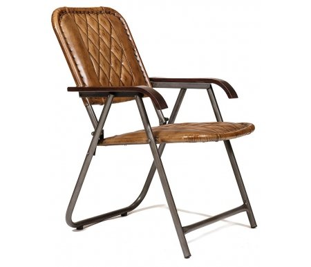 Купить Стул Тетчер, Secret De Maison Gudzon M-17532, кожа буйвола / коричневый / черный