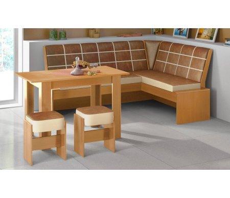 Кухонная скамья Кантри Т1 исп.2 МФ-105.022 ольха от ЛайфМебель
