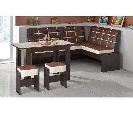 Кухонная скамья Кантри Т1 исп.2 МФ-105.022 венге от ЛайфМебель