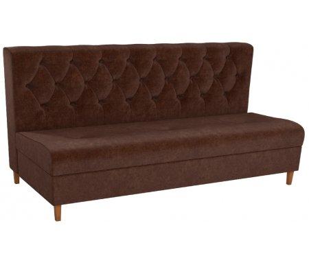 Купить Кухонный диван Mebelico, Бремен микровельвет коричневый, Россия