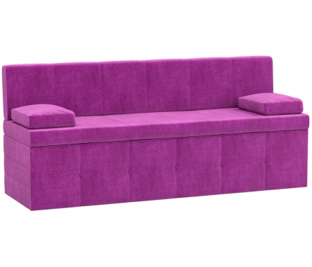 Купить Кухонный диван Mebelico, Лео микровельвет фиолетовый, Россия