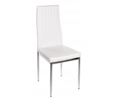 Стул DC2-003 белый разборныйСтулья на металлокаркасе<br>Расстояние между ножками стула 41 см.<br>