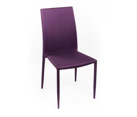 Стул S-373С пурпурныйСтулья на металлокаркасе<br>Стулья поставляются в собранном виде.<br><br>Ширина сиденья: 43 см<br>Глубина сиденья: 39 см<br>Высота спинки: 90 см<br>Материал каркаса: металл, обитый тканью (меланж)<br>Материал обивки: влагостойкая ткань (меланж)<br>Цвет обивки: пурпурный