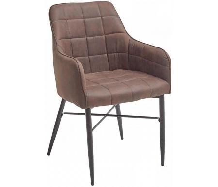 Купить Стул Мебель Малайзии, на металлокаркасе Forza коричневый винтажный