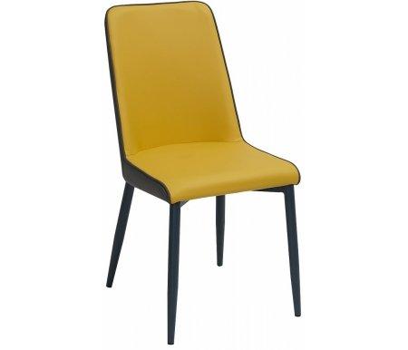 Стул Мебель Малайзии на металлокаркасе Soft yellow 643 / grey 645
