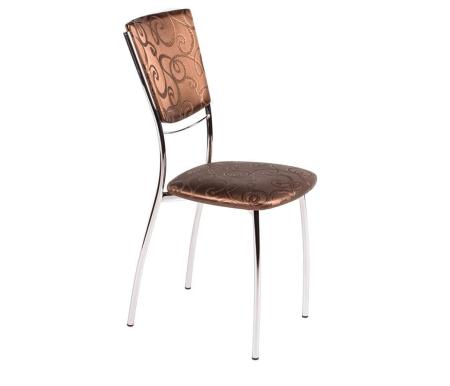Стул Омега-5 D-4Стулья на металлокаркасе<br>Стул Омега 5на металлическом каркасе с сиденьем и спинкой из кожзаменителя.<br>
