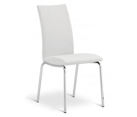 Купить Стул Pranzo, SD202 хром CR / белый SM10, белый / хром