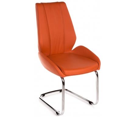 Стул SILVERSTONEСтулья на металлокаркасе<br>Стул SILVERSTONE имеет очень эргономичные спинку и сиденье, что обеспечивает хорошую боковую поддержку.<br> Сиденье и спинка обиты экокожей, что позволяет легко чистить и мыть данный стул. Каркас - хромированный металл.<br><br>Ширина: 52 см<br>Глубина: 63,5 см<br>Высота: 97 см<br>Материал каркаса: хромированный металл<br>Материал спинки и сиденья: экокожа<br>Цвет: оливковый (OR33), желтый (OR08), оранжевый (OR23)
