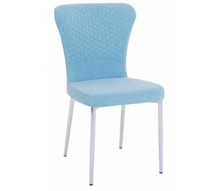 Купить Стул Мебель Малайзии, Sky blue / chrome, голубой