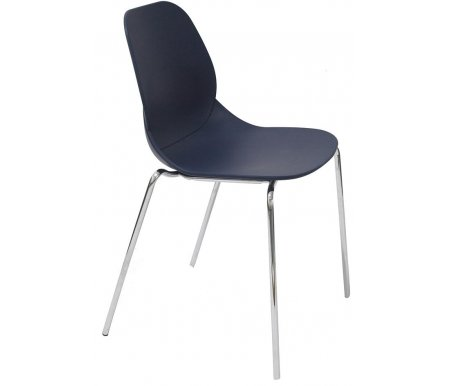 Стул СТ-615 синийСтулья на металлокаркасе<br>Удобный и современный стул СТ-615 подходит для использования в гостиных и кухнях, на дачах и в кафе.<br>