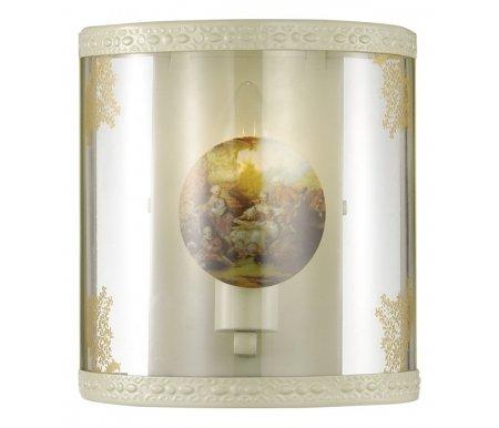 Накладной светильник Kimona 2874/1WБра<br>способ крепления светильника на стене – на монтажной пластине,<br>