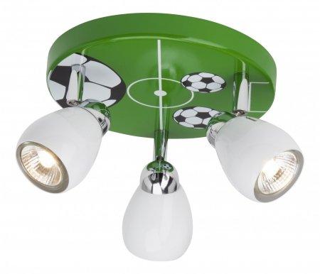 Спот Soccer G56234/74Детские светильники<br>способ крепления светильника к потолку и стене – на монтажной пластине,<br>
