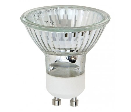 Лампа галогеновая GU10 230В 50Вт 3000K HB10 02308Лампочки<br><br>