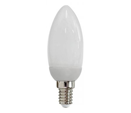 Лампа компактная люминесцентная E14 11Вт 4000K ELC73 04044Лампочки<br><br>