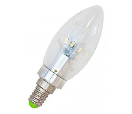 Лампа светодиодная E14 230В 4.5Вт 2700K LB-70 25466Лампочки<br>12 встроенных светодиодов<br>