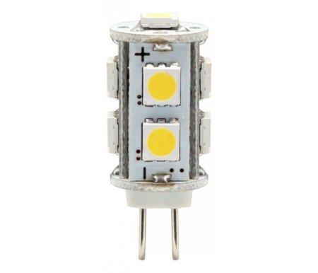 Лампа светодиодная G4 12В 2Вт 4000K LB-402 25209Лампочки<br>9 встроенных светодиодов<br>