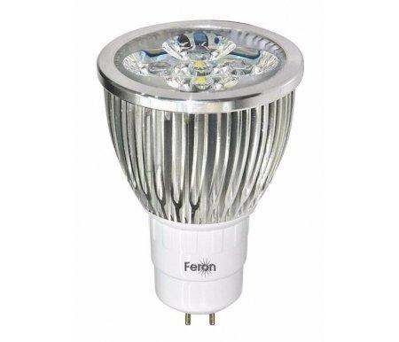 Лампочки светодиодная GU5.3 230В 5Вт 4000K LB-108 25192  Лампа Feron