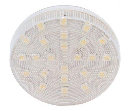 Лампа светодиодная GX53 230В 5Вт 2700K LB-153 25423Лампочки<br>24 встроенных светодиода. <br>Лампа с рассеивателем. <br>  <br> <br>   <br>    <br>   <br> <br>   <br>    Цветность: 2700 К.<br>   <br>    Яркость: 400 Lm.<br>