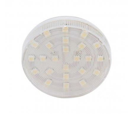 Лампа светодиодная GX53 230В 5Вт 4000K LB-153 25200Лампочки<br>24 встроенных светодиода<br>