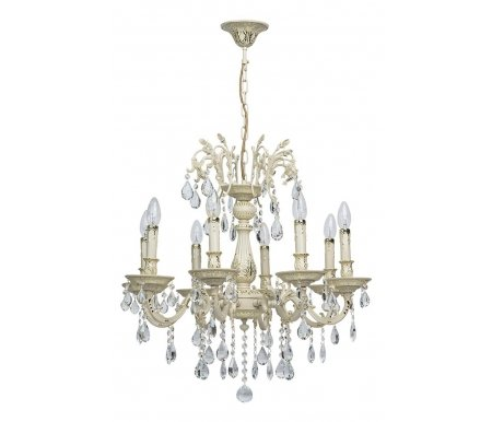 Подвесная люстра Свеча 1 301015908Хрустальные люстры<br>способ крепления светильника на потолке - на крюке,<br>