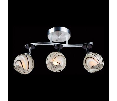 Светильник на штанге 9643/3 алюминий/белыйЛюстры на штанге<br><br>