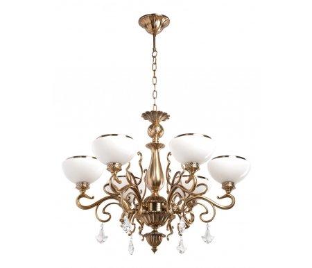 Подвесная люстра Аманда 481010506Люстры подвесные<br>указана высота светильника без подвеса<br>